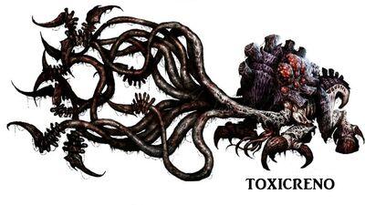 Tiranidos arte toxicreno
