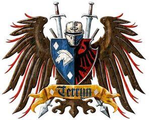 Caballeros emblema terryn