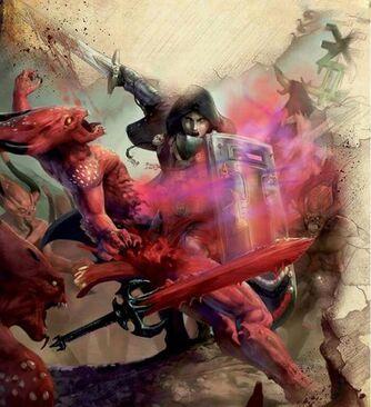 Cruzado contra demonios