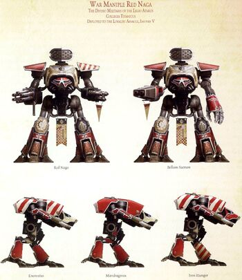 Demi-Legión Naga Roja Legio Atarus Istvaan V