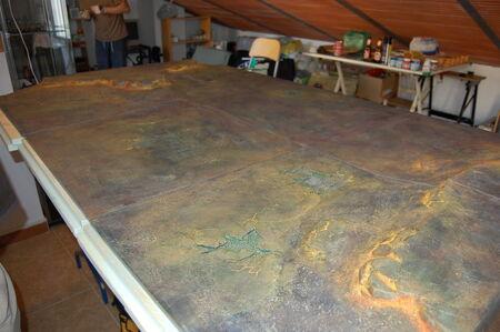 Pintura tablero modular 16