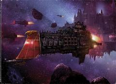 Flota fortaleza Segmentum y acorazado