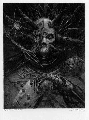 Kelbor-Hal adeptus mechanicus