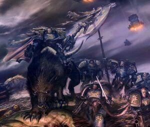 Lobo Trueno Warhammer 40K