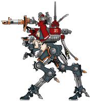Mechanicus Lucius ironstrider