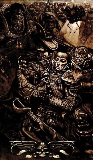 Muerte Señor Guerra Slaydo Cruzada Mundos Sabbat Wikihammer
