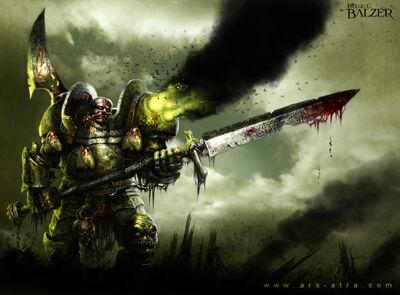 Caos campeon de plaga wikihammer