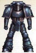 Caos legion alfa gran cruzada legionario veterano