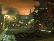 Captura de pantalla de Freeblade - Kamiones orkos
