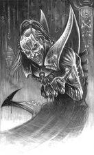 Eldar oscuro hemonculo antiguo BN