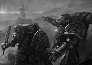 Guardianes de la Muerte Vigilantes de las Tormentas Espada Sierra Objetivo Localizado Ordo Xenos Wikihammer