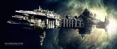 Nave Inquisidor flota Imperial