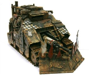 Miniatura orko killblasta tanke multiametrallador