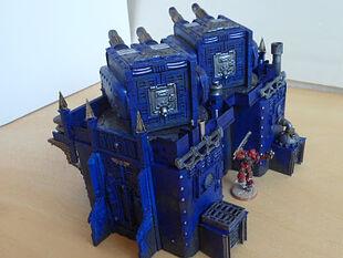Bateria Imperial 58 Wikihammer 40K