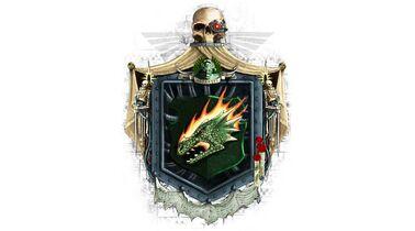 Marines blason salamandras