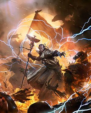 Psíquico de batalla Guardia Imperial vs Orkos
