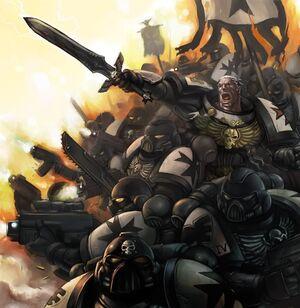 Templarios Negros batalla warhammer 40k wikihammer