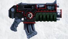 Arma bolter modelo godwyn salamandras