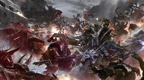 Portadores de la Palabra vs Orkos Kráneoz de Muerte