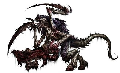 Tiranido guerrero flota leviathan 02