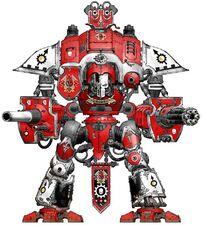 Caballero Cruzado Poder Rojo