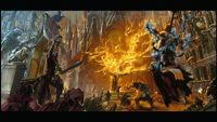 Caos levantamiento cultista mundo imperial