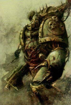 Marines Plaga Nurgle Caos Chaos Warhammer 40k Wikihammer