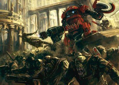Orkos invasion mundo imperial lata asesina