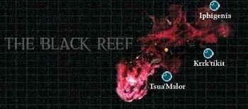 Arrecife Negro Saliente Canis Cruzada Achilus Cuenca Jericho Tau Velk'Han Wikihammer