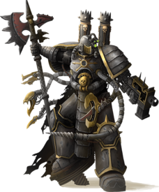 Caos guerreros de hierro abraxis synethi