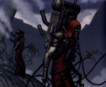 Caos mechanicum oscuro nomen ryne falsos hombres 01