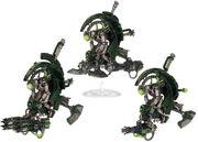Cuchillas de la Necrópolis Necrones 5ª Edición miniaturas