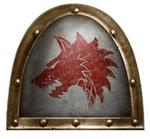 Emblema Legión Lobos Espaciales