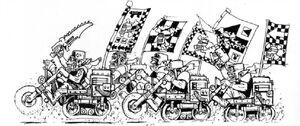 Maloz Moteroz Orkos 1ª Edición ilustración