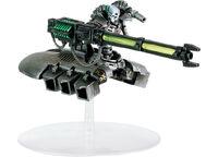 Miniatura Destructor Pesado Cañon Gauss Pesado Ejercito Necron Wikihammer