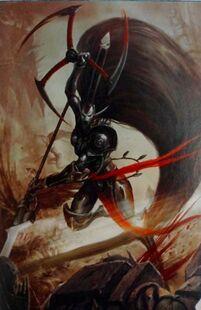 Jain Zar Eldar Señor Fénix Espectros Aullantes Warhammer 40k Wikihammer