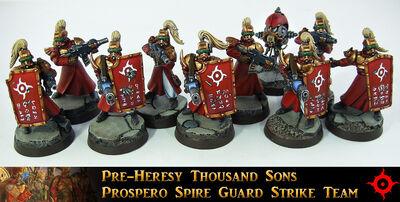 Pre herejia ejercitoimperial guardianes de la aguja prospero