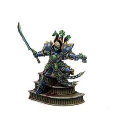 Caballero Hidra Kabuki miniatura