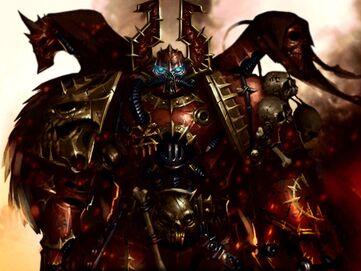 Caos señor del caos khorne