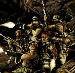 Guardia imperial 13 Legión Penal Wikihammer