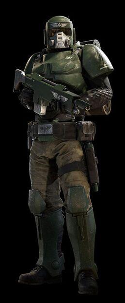 Guardia imperial soldado