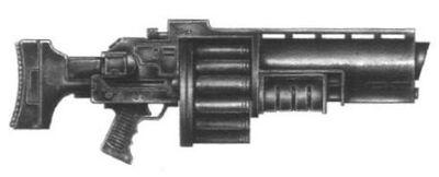 Lanzagranadas modelo Victoria II