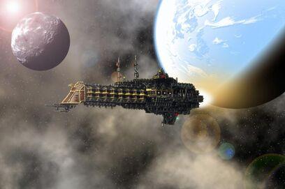 Crucero de Batalla Clase Caliz Flota Imperial Wikihammer