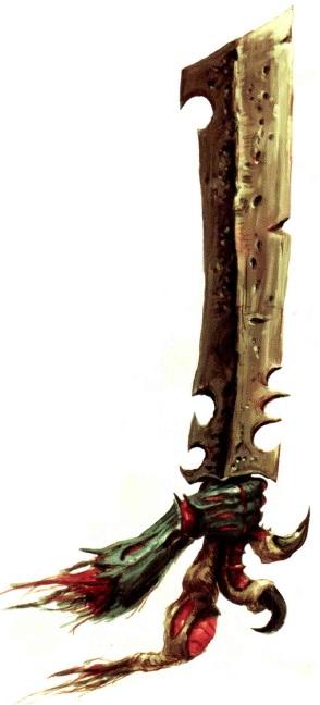 Espada Osea Biomorfo Armamento Tiranidos Wikihammer