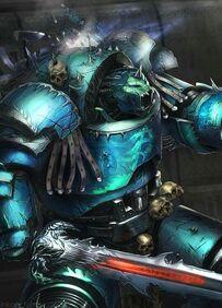 Caos legion alfa exterminador demonio
