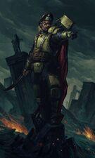 Guardia imperial halcones de guerra harakon capitan