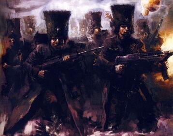 Preherejia ejercito imperial infanteria 12 Urslavik