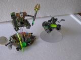 Escenografía: Destructor necrón en miniatura (diorama)