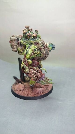 Dreadnough Nurgle 40k 4 propainted