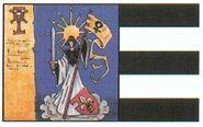 Estandarte Nuestra Señora Mártir Adepta Sororitas 2ª Edición ilustración